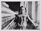 Lewis W. Hine Limited Ed. Photo 40x30cm Spinner North Carolina Cotton Mill 1908