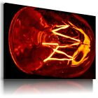 GLOW LAMP ABSTRACT MODERN CANVAS WALL ART PICTURE LARGE SIZES AZ5 X
