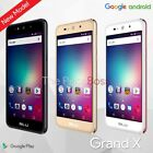 "Blu Grand X G090q 5"" Hd 4g Unlocked Gsm Dual Sim Android Phone New"