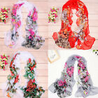 Women Fashion Stylish Soft Silk Chiffon Long Scarf Wrap Shawl Scarves Fast Ship
