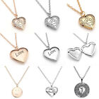 Unisex Fashion Alloy Paw Heart Love Pendant Openable Chain Necklace Jewelry Gift