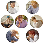 2 PCS Fashion KPOP BTS Love Yourself Round Badge Bullet Proof Cadet Corps Badge