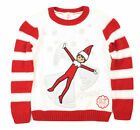 Ugly Christmas Sweater Kid's The Elf On The Shelf Pullover Sweatshirt
