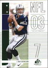 2003 SP Game Used Edition Football #1-171 - Your Choice GOTBASEBALLCARDS