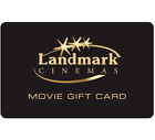 Landmark Cinemas Gift Card $25, $50, or $100 - Fast email delivery <br/> Canada Only. Email delivery.