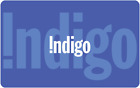 Indigo Gift Card $25, $50, or $100 - email delivery <br/> Canada Only. Email delivery.