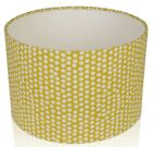 Fryetts Spotty design in Ochre or Dove Grey Lampshade,Ceiling Pendant,Table Lamp
