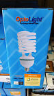 6x 3X 1X OptoLight LARGE CFL Light Bulb 45W = 200W 2700K Warm Grow 45 200 watt