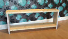 Wooden Bench Farm House Style And Shoe Rack 4' Hand Made