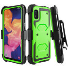 For ZTE Zmax Pro/Z981/Blade X Max/Z983 Hybrid Holster Belt Clip Phone Case Cover