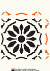 Tile 100mm Various sizes Moroccan Stencil Masks Furniture  Wall  Floor  DIY TL25