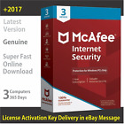 McAfee AntiVirus & Internet Security 2017, 3 PCs/1 Year -License in eBay Message
