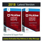 McAfee Internet Security 3 PCs/1 PC for 1 Year -License in eBay Message