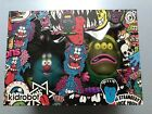 KIDROBOT CHARLIE & COSMIC GARBAGE WEIRD & AWESOME 2PK NEW VAULT LIMITED #300