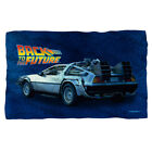 Back To The Future Movie Licensed  POLAR FLEECE BLANKET Size 36 x 58 New image