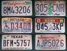 £3.99 rough condition AMERICAN LICENSE PLATE various states California #lot14