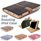 Shockproof Magnetic 360 Rotating Case Smart Cover Wallet for Apple iPad 2 3 4