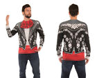 Adult size Faux Real Mariachi Suit Shirt - PhotoRealistic Apparel 5 sizes fnt