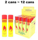 2 CANS ~ 12 CANS NEON ULTRA REFINED BUTANE GAS FILTERED LIGHTER REFILL FUEL