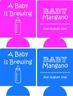 a baby is brewing baby shower koozies no minimums custom ...