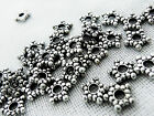 8mm 250/500/1000pcs ANTIQUE SILVER COLOR ACRYLIC SPACER BEADS AB02419