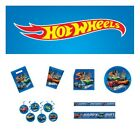 Hot Wheels Party Supplies Pack for 8 16 or 24 Cups Plates Loot More
