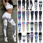 Damen Sporthose Leggings Tights Laufhose Fitnesshose Stretch Gym Jogging Hose 42