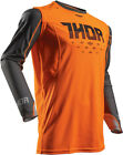 Thor 2017 S7 Prime Fit Rohl Jersey Orange/Gray Mens All Sizes