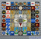 LEGO - Printed Tiles - PICK YOUR DESIGN - 2x2 Round Square Decorated Smooth Flat