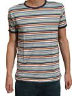 MENS stripey t-shirt tee indie mod 80's Stranger NEW striped things nautical