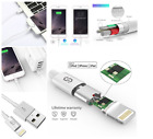 iPhone Charger 3.3 ft Lightning Cable Series Smartphone Accessories White New