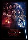 STAR WARS THE LAST JEDI MOVIE HIGH QUALITY GLOSSY POSTER PRINT A4 A3 £5.99 GBP