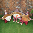 Home Gifts Star Pillow Christmas Snowman Seat Cushion Santa Deer Doll Decoration