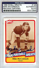 Mike McCormack Autographed Signed 1989 Swell Greats Card Browns PSA/DNA