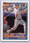 "1991  PAT TABLER - Topps ""DESERT SHIELD"" Baseball Card- # 433 - NEW YORK METS"