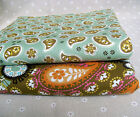 """Good Quality 1/2 yard/meter floral printed 100% Cotton Fabric 43"""" xx"""