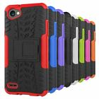 Rugged Armor Hybrid Kickstand Protective Phone Cover case For LG Series Phone