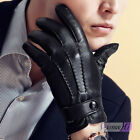 Men's  Leather Driving Gloves Soft Everyday & Winter Gloves Mittens Touch Screen