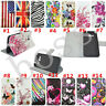 Flip Magnetic Wallet PU leather stand Silicone phone cover case for Samsung #3