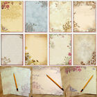 10x/Set Retro Design Writing Paper Note Letter Write Greeting Word Friendship