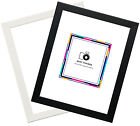 A1 A2 A3 A4 A5 Various Sizes  Black And White Wood Effect Poster Picture Frames