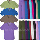 Dickies Scrubs Pants or Shirt Unisex fit EDS Drawstring Pant, V-neck Top Uniform
