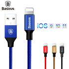 Baseus Fast Data Charging USB Cable Mobile Phone Charger Cables For Apple iPhone