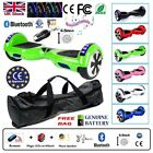 "6.5"" 2 WHEELS SELF BALANCING SCOOTER BALANCE BOARD BLUETOOTH +LED+REMOTE UK ;"