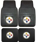 Kyпить Pittsburgh Steelers Heavy Duty Floor Mats 2 & 4 Pc Sets for Car Trucks & SUV's на еВаy.соm