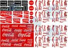 Coca Cola Decal Pack | Coke Waterslide Decals in all popular scales up to 1:18 $14.0  on eBay