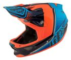 Troy Lee Designs 2017 D3 Carbon MIPS Helmet Starburst Orange Adult All Sizes