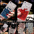 crystal clear tv - 3D Jewelled Bling Crystal Gradient Rhinestone Diamond Soft cover case