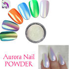 Unicorn Chrome Aurora Crystal Opal AB Mermaid Effect Effect Rainbow Nail Powder