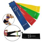 Elastic Resistance Loop Bands Yoga Exercise Fitness Workout Physio Stretch gym